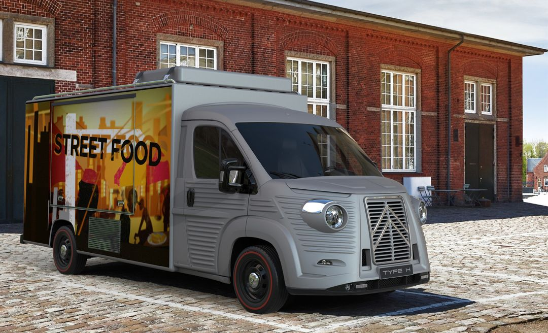 FOOD TRUCK (MODERN STYLE)